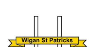 logo for wigan st pat's arlfc