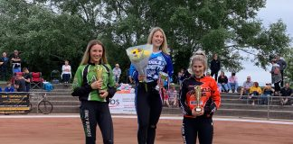 Photo attached is from The Women's Laurels event at Poole. L-r: Emily Burgess, Macie Schmidt, Laura Watson.