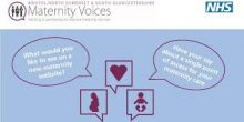 poster advertising maternity engagement event