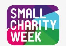 logo for small charity week 2019