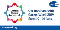Carers Week logo 2019