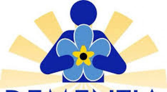 blue and yellow logo for good deeds trust