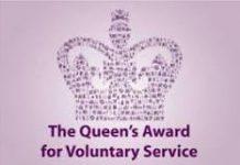 The Queen's Award for Voluntary Service: 2019 logo