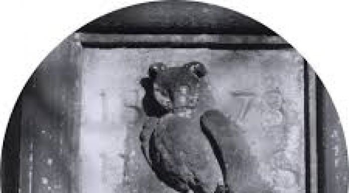 standish owl and rat emblem for Standish