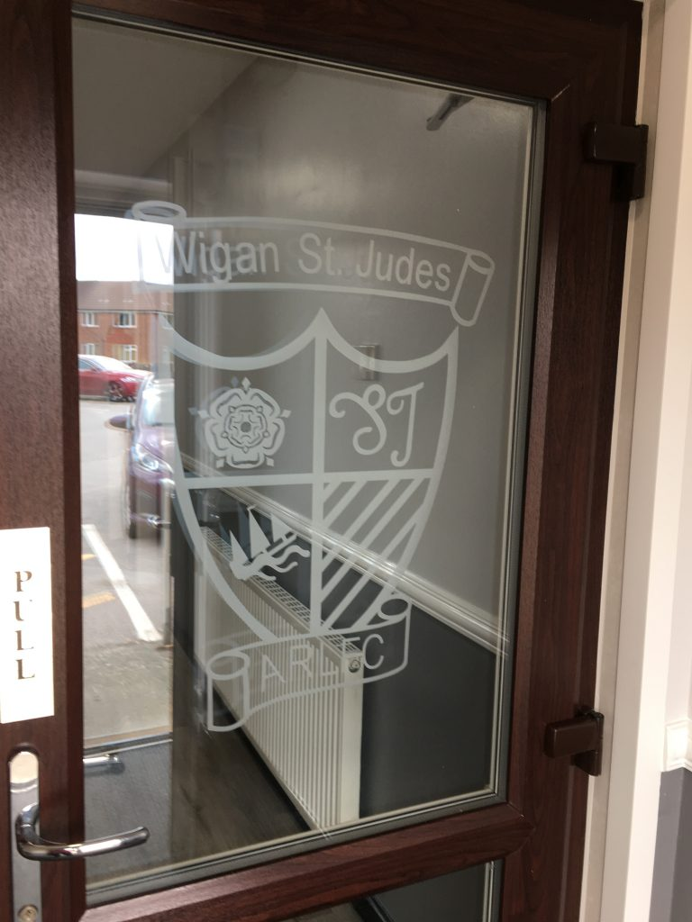 photo of improvements to the entrance