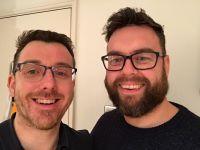 photo of Matt and Steven