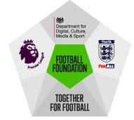 logo for football foundation