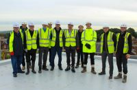 Standish Leisure Centre Topping Out Ceremony