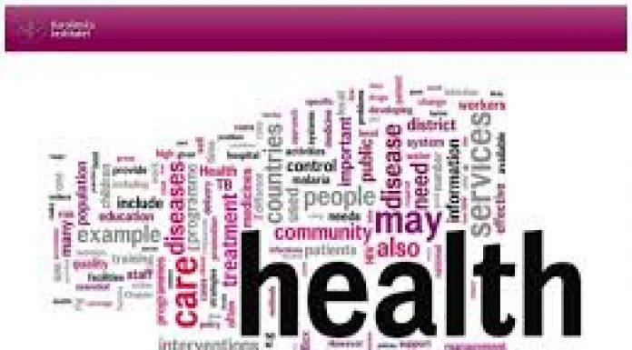 health forum word cloud