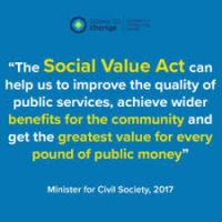 poster about social value act