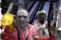 zombies in The Galleries