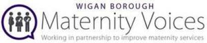 wigan borough maternity voices logo