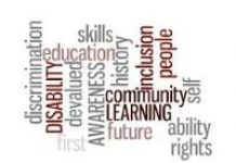 word cloud Disability Awareness Training