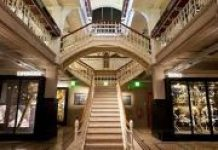 internal photo of Manchester Museum