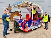 Santa's Sleigh Leigh Rotary