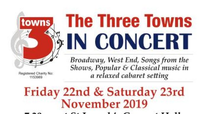poster advertising concert