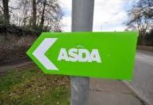 sign with the word ASDA