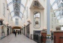 upper floor in The Galleries