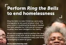 poster advertising Ring the Bells - LPC charity recording