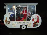 rotary christmas astley float