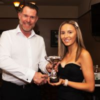 Photo attached shows Emily Burgess receiving the A&T Club Rider of the Year award from new A&T Club Chairman, Steve Harris. Photo courtesy of Andrew Cox. Attachments area