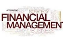 word cloud depicting financial management