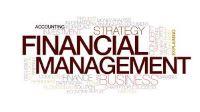 word cloud depicting financial management