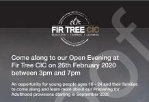 Fir Tree open evening