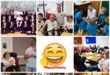 happy smiles collage