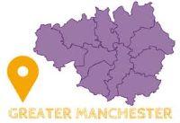 map of Gtr Manchester
