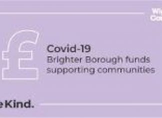 logo for Brighter Borough funding covid 19