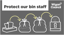 protect our bin staff poster