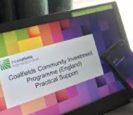 logo for Coalfields COVID-19 Recovery & Resilience Fund.