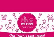 Our town's got talent logo