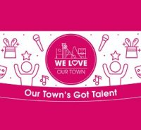 Our town's got talent logo