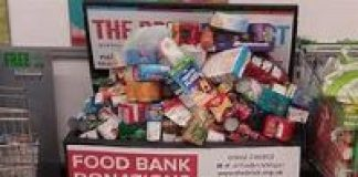 photo of food donated
