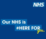 nhs here for you logo