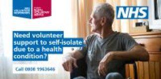 need volunteer support during coronavirus