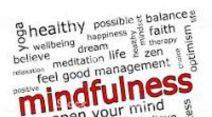 word cloud THINK WELLBEING THERAPY