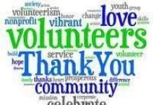 word cloud volunteers