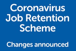poster regarding job retention scheme changes