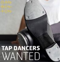 poster advertising for tap dancers