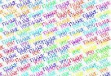 word cloud thankyou