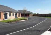 Completed housing development at Ullswater Road, Golborne