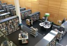 inside view of Wigan Library