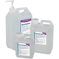 large bottles of hand sanitizer