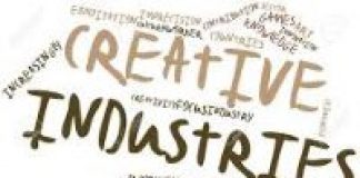 word cloud creative industries