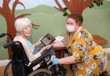 Mahogany-care-home-iPad