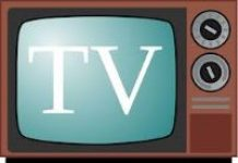 image of old style tv