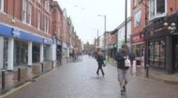 photo of a street in Leigh